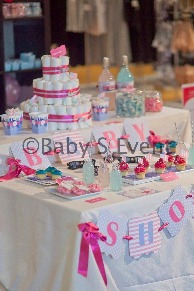 photos of baby shower table ideas photograph sweet table b