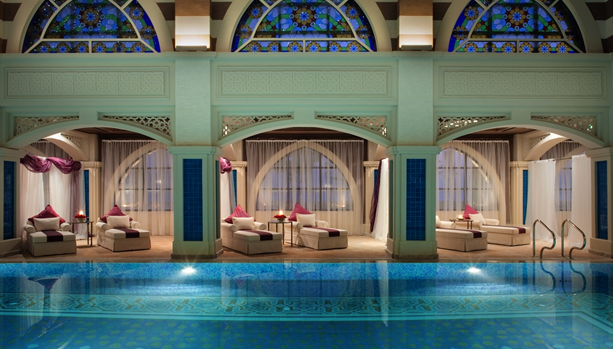 Talise Ottoman Spa, indoor thalassotherapy pool