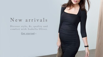 Isabella Oliver Maternity Autumn Winter Banner 2015