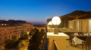 Rome Babymoon at Jumeirah Grand Hotel Via Veneto, Italy