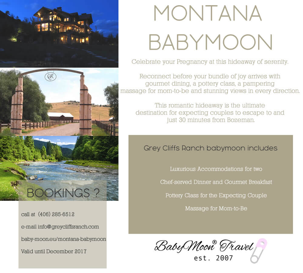 Montana Babymoon at Grey Cliffs Ranch