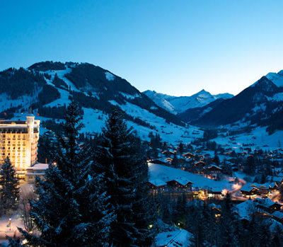 Pre-Baby Winter Break at Gstaad Palace