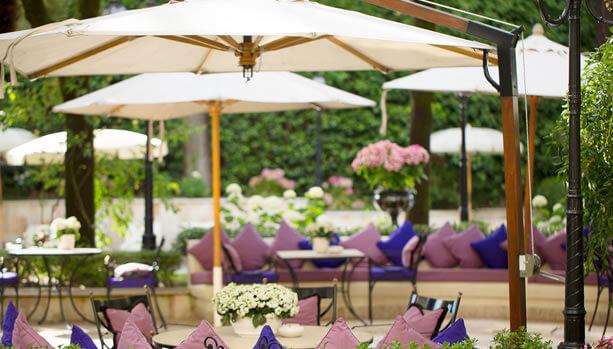 Aldrovandi Villa Borghese - Gardens