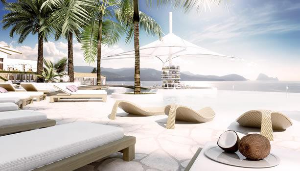 Ibiza Babymoon at 7Pines Resort Ibiza - Infinity Pool