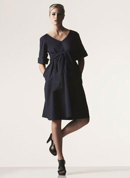 Monaco Dress in black (also in white available)