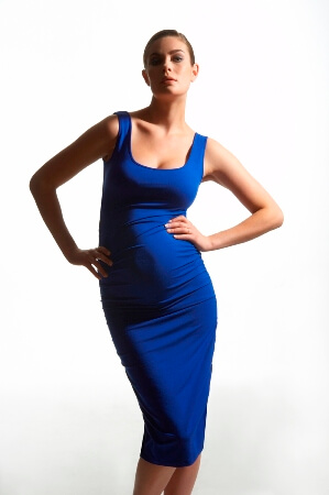 The Ruched Tank Dress