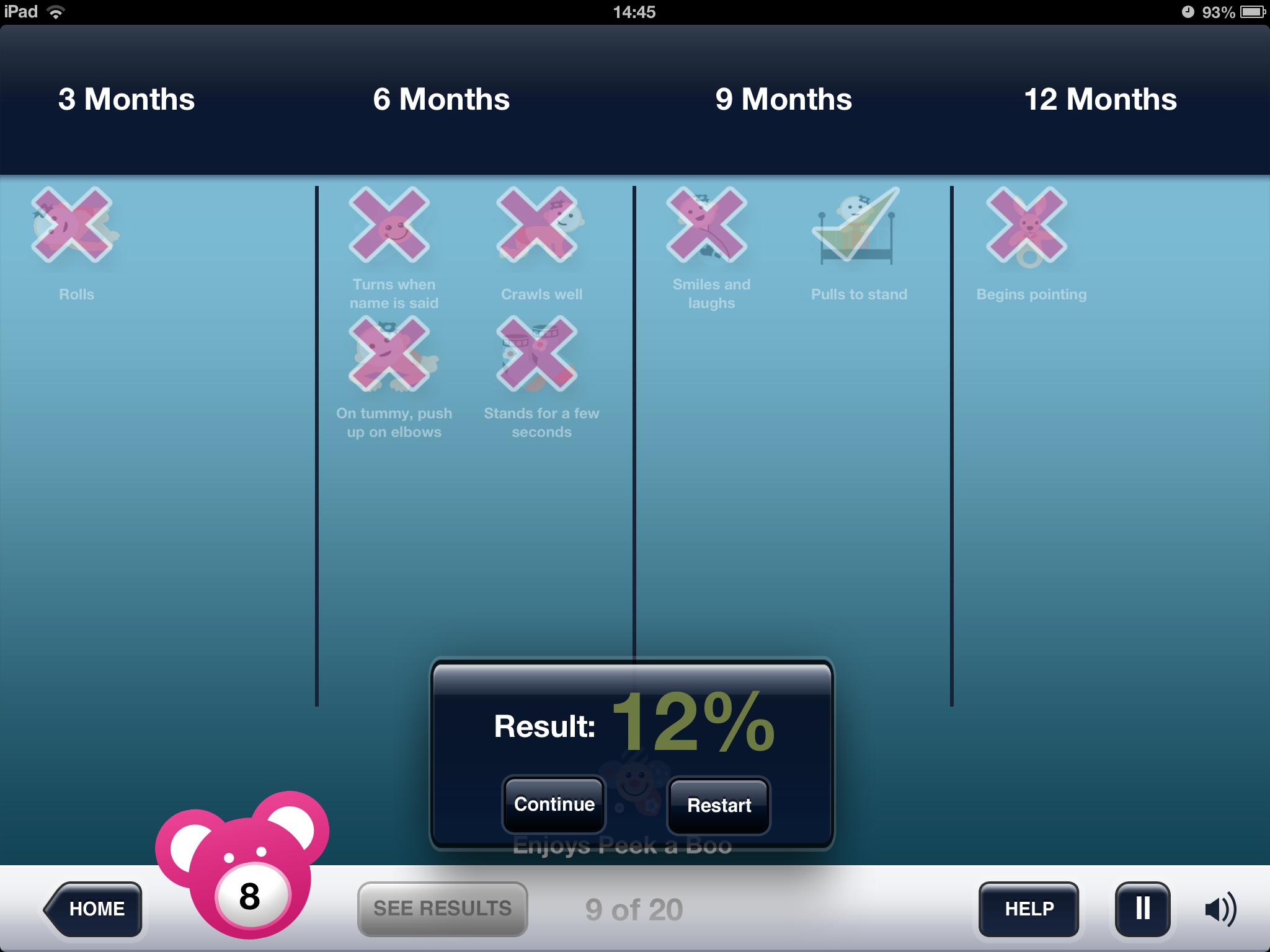 iPad app Launch of Baby Development Activities App v1.0 (+free app give-a-way)