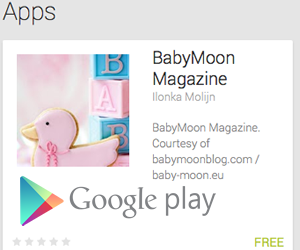 App for BabyMoon the blog