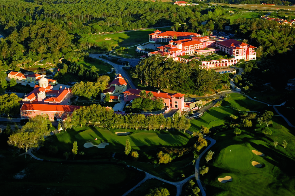 Aerial view of Penha Longa Resort