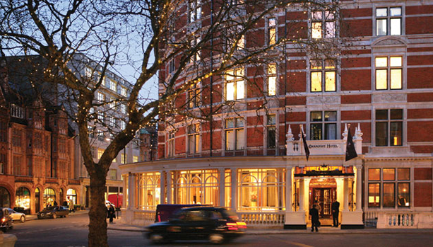 London Babymoon at The Connaught