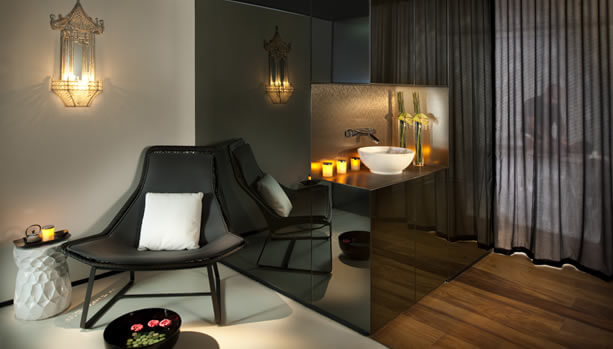 Barcelona Babymoon - Spa Treatment Room at Madarin Oriental, Barcelona