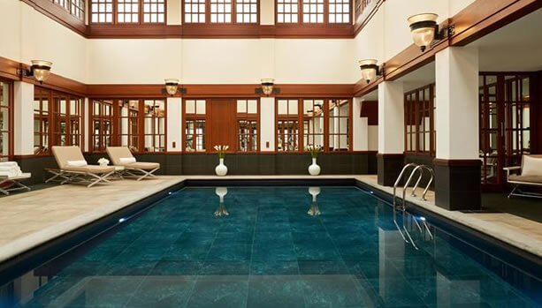 Indoor Swimming Pool at The Savoy, A Fairmont Managed Hotel