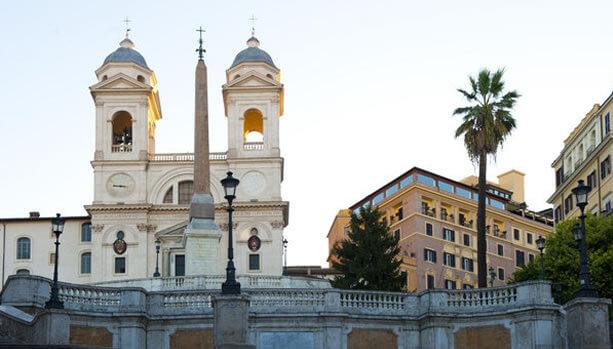 Rome Babymoon at Hassler Roma