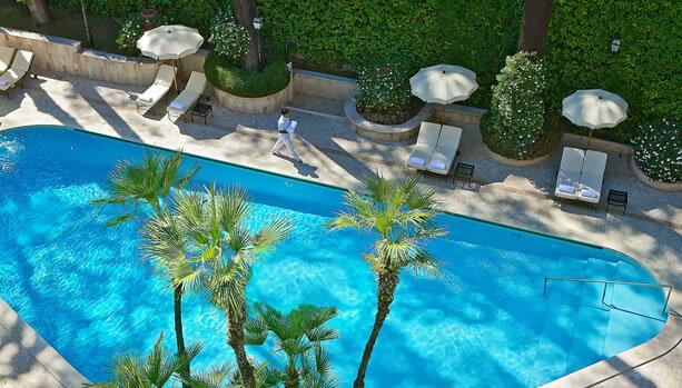 Aldrovandi Villa Borghese - Swimming Pool