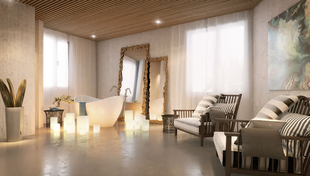 Ibiza Babymoon at 7Pines Resort Ibiza - Pure Seven spa suite
