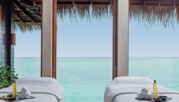 Couples Spa Suite at One&Only Reethi Rah Maldives