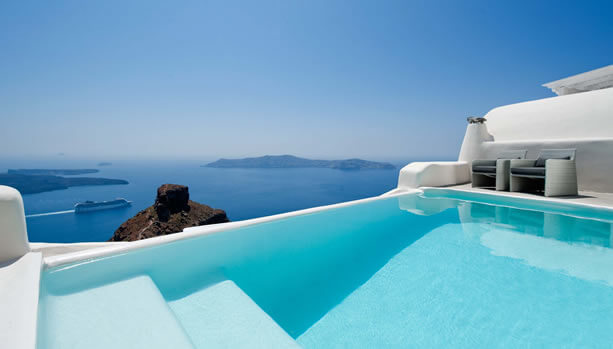 Santorini Babymoon at Kapari Natural Resort - Pool