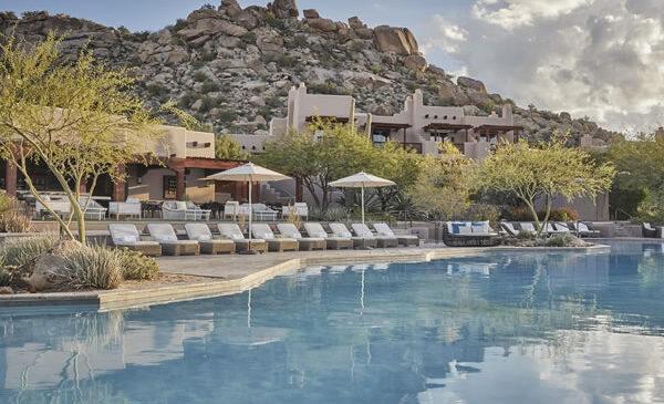Pool -©Four Seasons Resort Scottsdale at Troon North