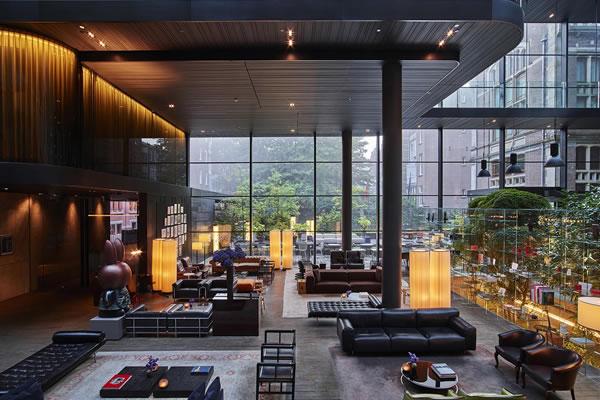 Lobby - ©Conservatorium Hotel Amsterdam / The Set Collection